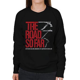 Supernatural The Road So Far Women's Sweatshirt