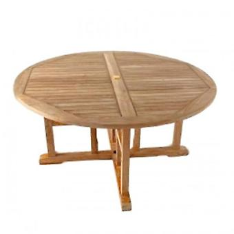 BrackenStyle Madison Round 150cm Teak Table
