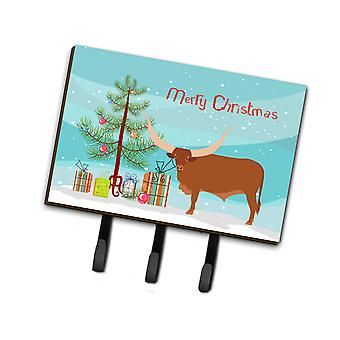 Carolines Treasures  BB9190TH68 Ankole-Watusu Cow Christmas Leash or Key Holder