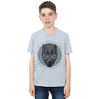 Marvel Boys Black Panther in Wakanda T-Shirt gemacht