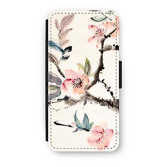 Samsung Galaxy S8 Flip Case - Japenese Blumen