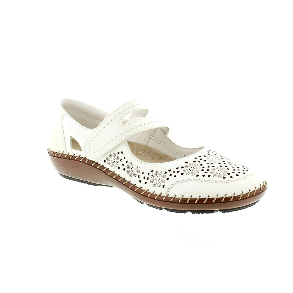 Rieker 44875 - Weiss/Bianco 80 (White) Womens Shoes Various