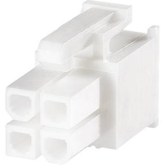 Socket enclosure - cable VAL-U-LOK Total number of pins 8 TE Connectivity 1586019-8 Contact spacing: 4.20 mm 1 pc(s)