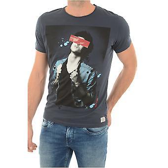 T-shirt cotton Printe Pm502293 Luke - Pepe Jeans