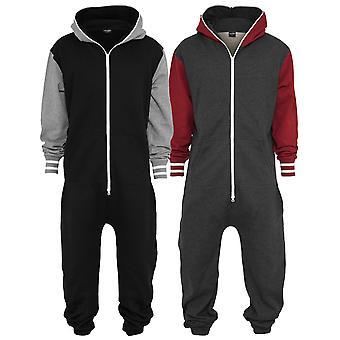 Urban classics - COLLEGE jumpsuit jumpsuit jogging suit