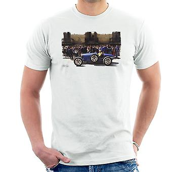 Bugatti Type 3 Racing Car White Men's T-Shirt