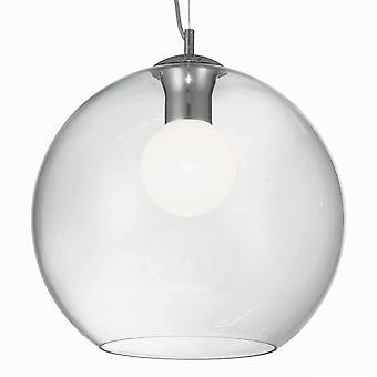 Ideal Lux Nemo Clear 400 verre Globe pendentif