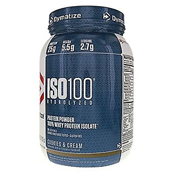 Dymatize Iso-100 Cookies & Cream 900 gr (Sport , Muscle mass , Proteins)