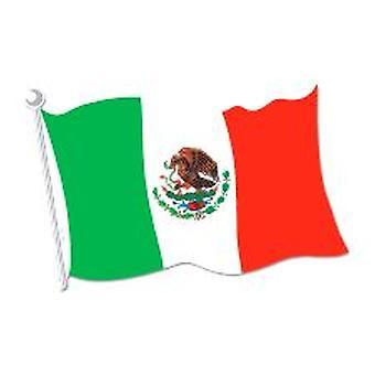 Meksikanske flagg Cut-out dekorasjon