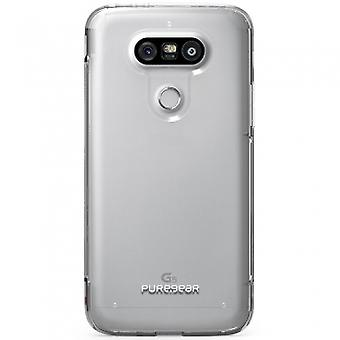LG G5 PUREGEAR SLIM SHELL PRO SERIES CASE - CLEAR/CLEAR