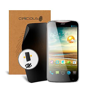 Celicious Privacy 2-Way Visual Black Out Screen Protector for Acer Liquid S2