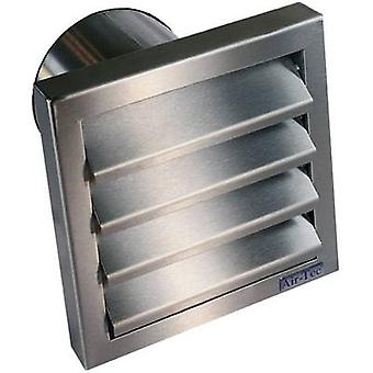 Wallair N31846 Extractor hood with backflow flap Stainless steel Suitable for pipe diameter: 12.5 cm