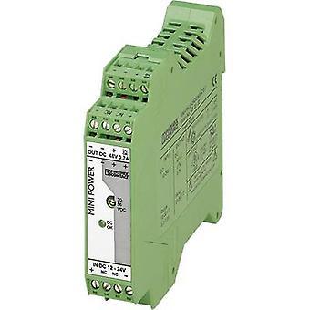 Phoenix Contact MINI-PS-12-24DC/48DC/0.7 Rail mounted PSU (DIN) 48 Vdc 0.7 A 1 x