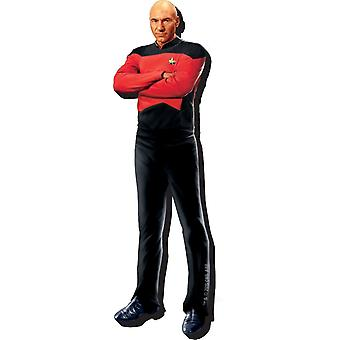 Picard Star Trek volgende Gen dikke dikke Fridge Magnet