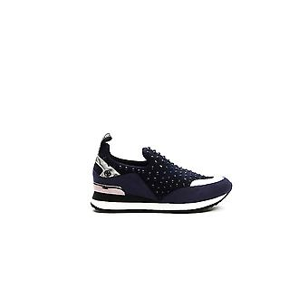 Sneakers Navy Blue Slip-On Andrea Liu Jo Woman