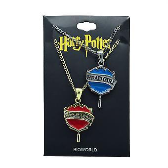 Harry Potter Head Boy/Girl Bestie Necklace Set