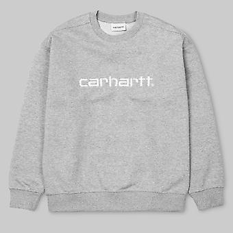 Carhartt WIP Carhartt Sweatshirt Grey Heather / White