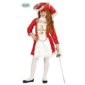 Guirca - musketeer girl costume sword fighter guard child costume