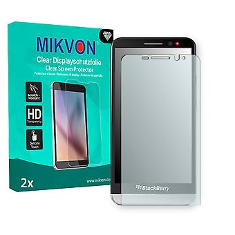 BlackBerry Z30 LTE Screen Protector - Mikvon Clear (Retail Package with accessories)