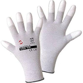 L+D worky ESD TIP 1170 Nylon Protective glove Size (gloves): 9, L EN 388:2016 CAT II 1 pair