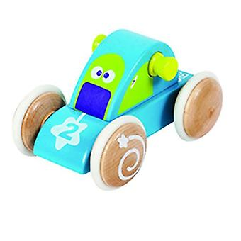 BOIKIDO Comet Vehicle Wooden Push Along Space Toy for 18m+