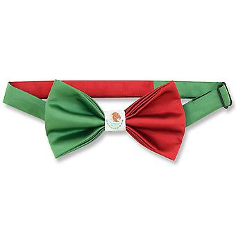Mexican Flag Men's Bow Tie Mexico Patriotic BOWTIE