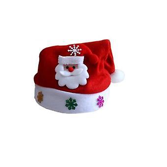 Santa hat with flashing motifs-Santa Claus