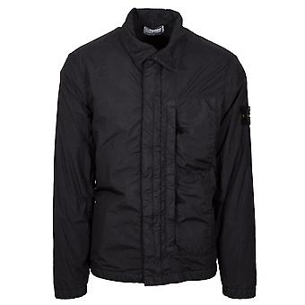 Stone Island Stone Island Grey Garment Dyed Crinkle Reps NY Jacket