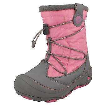 Girls Hi-Tec Speed Lace Waterproof Boots Equinox Mid WP