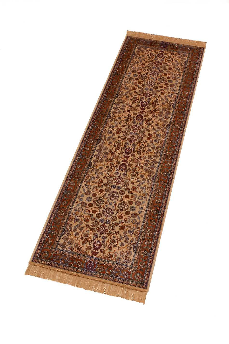Afghan Ziegler Artsilk Faux Silk Effect Hall Runner Rugs 5663/4
