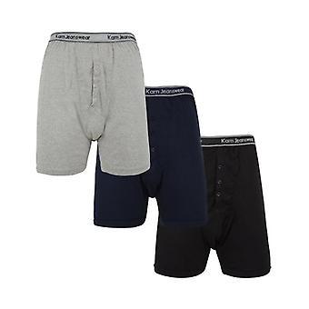 Kam odzieży dżinsowej duże męskie 3 Pack Jersey bokser krótki zestaw