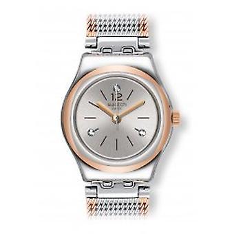 Swatch Full Silver jacka Armbanduhr (YSS327M)