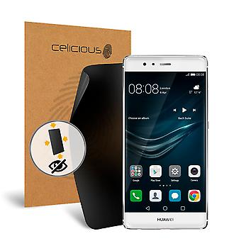 Celicious Privacy Plus 4-Way Anti-Spy Filter Screen Protector Film Compatible with Huawei P9