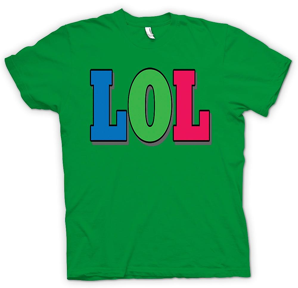 Mens T-shirt - Lol - Funny