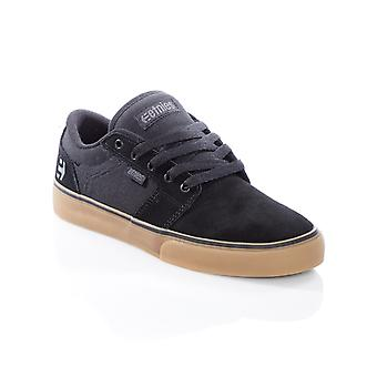 Etnies Black-Gum-Grey Barge LS Shoe