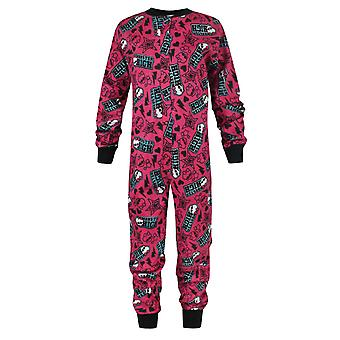 Monster High Girl's Onesie Multicoloured