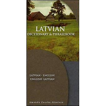 Latvian-Eng/Eng-Latvian Dictionary and Phrasebook (Dictionary & Phrasebook)