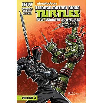 Teenage Mutant Ninja Turtles: New Animated Adventures: Volume 4
