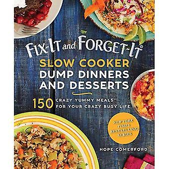 Fix-It och glöm-det Slow Cooker dumpa kakor