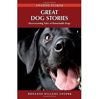 Great Dog Stories: Heartwarming Tales of Remarkable Dogs (Amazing Stories (Heritage House))
