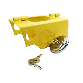 Hyfive Caravan Trailer Hitch serratura con lucchetto Heavy Duty