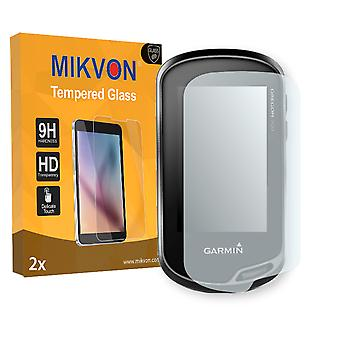 Garmin Oregon 700  Screen Protector - Mikvon flexible Tempered Glass 9H (Retail Package with accessories)