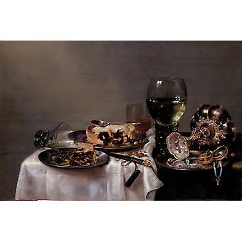 Still Life,Willem Claesz Heda,60x40cm