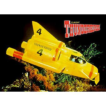 Thunderbird 4 steel fridge magnet    (sd)