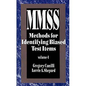 Methods for Identifying Biased Test Items by Camilli & Gregory A.