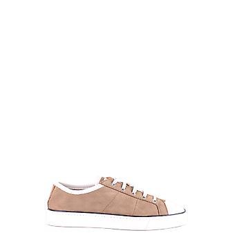 Santoni Brown Suede Sneakers