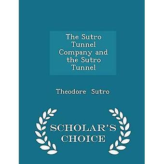 الشركة النفق سترو والطبعة خيار العلماء النفق سترو قبل تيودور & سترو