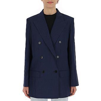Theory Blue Wool Blazer