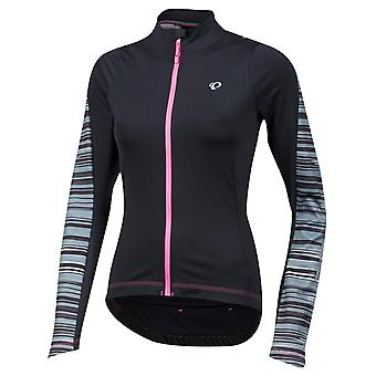 Pearl Izumi Black Rush Elite Pursuit Thermal Womens Long Sleeved Cycling Jersey