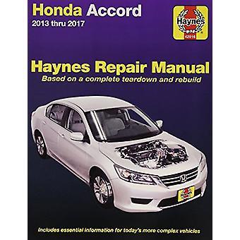 Honda Accord 2013-17 by Haynes - 9781620922583 Book